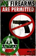 Firearms poster new 01-23-800-500-80