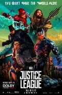 Justice League Dolby Poster