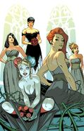 Catwoman's Bridal Party variant cover -50