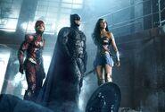 Flash, Batman, Wonder Woman JL
