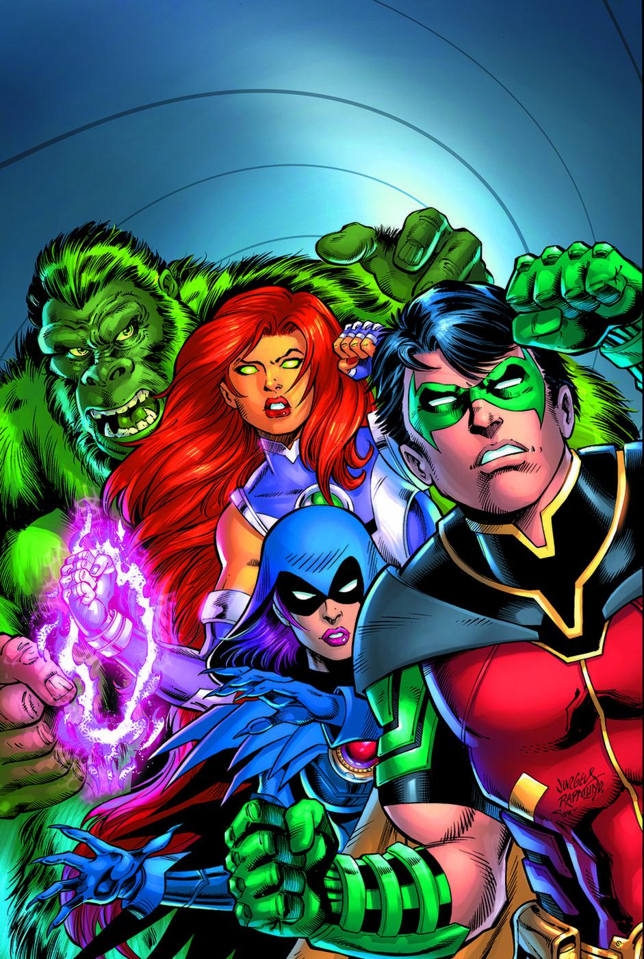 Titans: Burning Rage (Volumen 1)