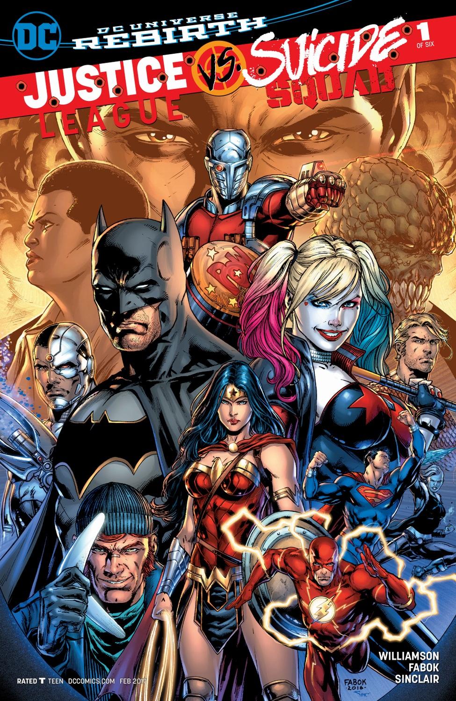 Justice League vs. Suicide Squad (Volumen 1)