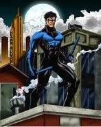 Nightwing w komiksach
