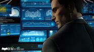 Bruce Wayne and Batcomputer Telltale
