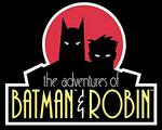 Adventures of Batman & Robin box logo