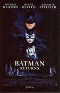 Batman Returns Comic Book 2 Back
