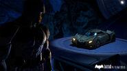 Bruce Wayne and Batmobile Telltale