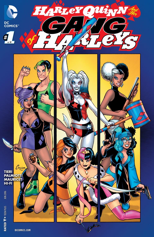Harley Quinn and Her Gang of Harleys (Volumen 1)
