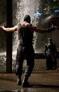 Bane and Batman TDKR