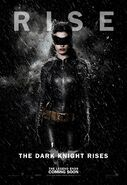 TDKR Catwoman poster