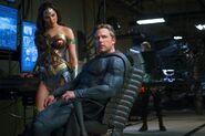 Justice League promo Wonder Woman Batman
