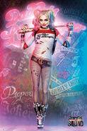 Harley Quinn SS Poster 01