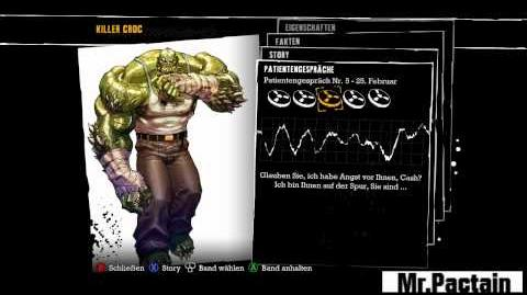 Batman AA - Tonbänder Killer Croc