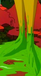 Slime feet