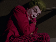Joker stuck on Batpole