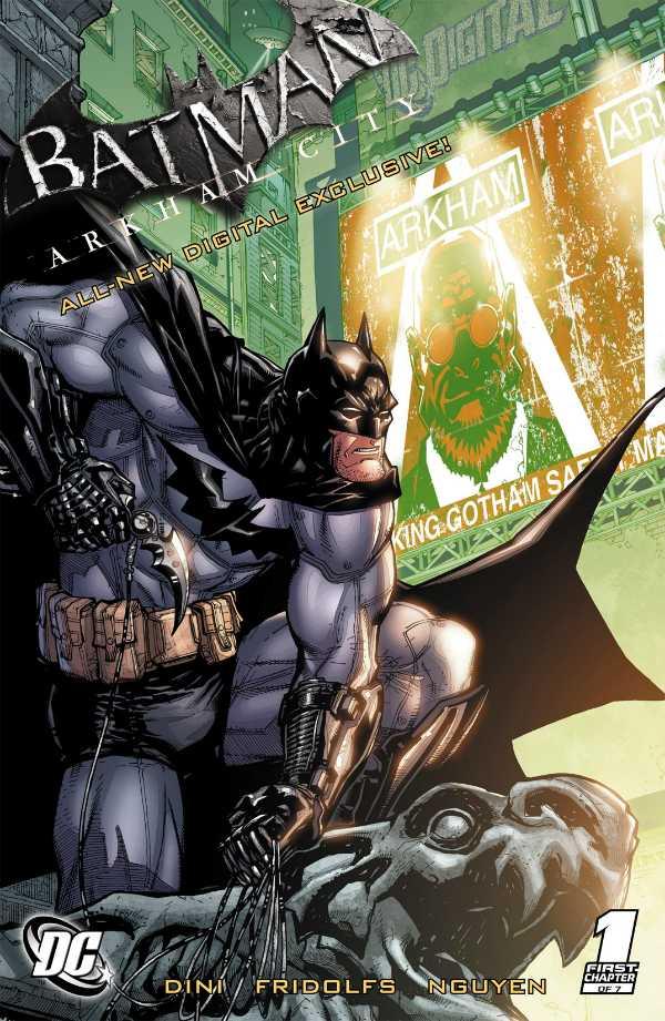 Batman: Arkham City (cómic digital)