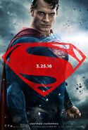 BvS Character Poster Superman