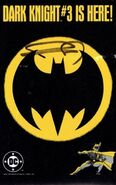 Dark Knight Issue 3 ad