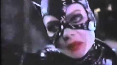 "Batman Returns ""The Cat"" TV Spot Trailer Michael Keaton Pfeiffer DeVito Burton 1989 Commercial"