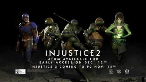 Injustice 2 - ¡Pack de luchadores 3 revelado!