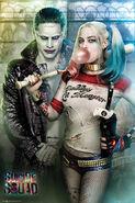 Harley & Joker SS Poster