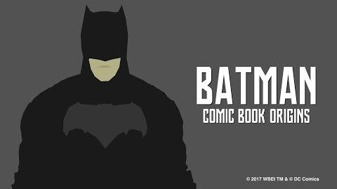 Justice League - Batman Comic Book Origins