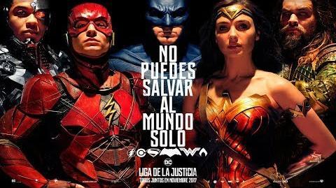 Liga de la Justicia - Trailer Comic-Con 2017 Subtitulado