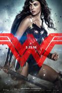 Póster de Wonder Woman BVS