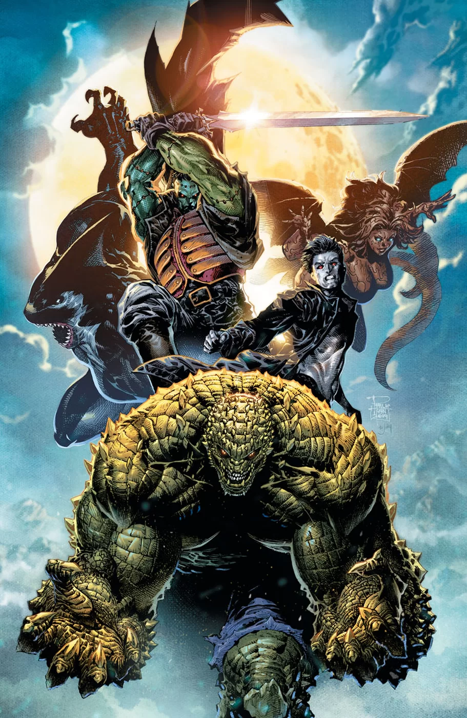 Gotham City Monsters (Volumen 1)