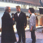 Batman Returns - Burton, Walken and Bryniarski