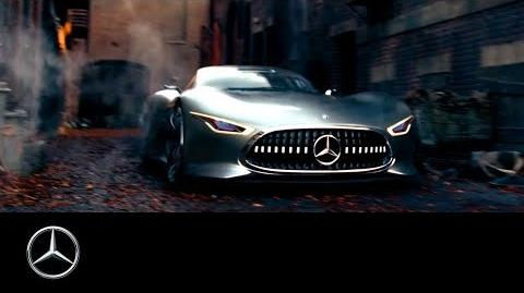 Liga de la Justicia -Detrás de escenas con el E-Class Cabriolet & Vision GT
