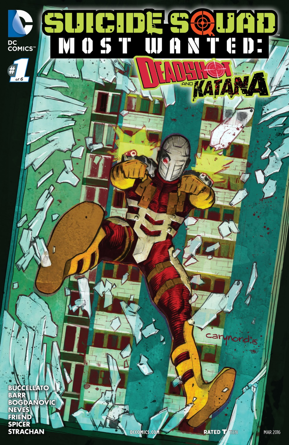 Suicide Squad Most Wanted: Deadshot and Katana (Volumen 1)