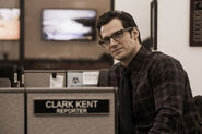 Clark en el trabajo