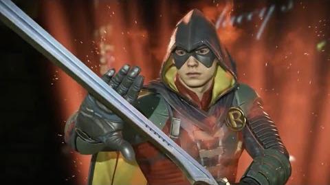 Injustice 2 - Trailer Robin
