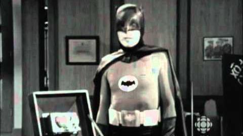 RetroBites Batman Action on Set (1966) CBC