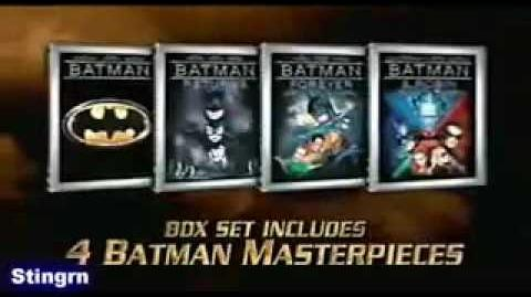 Batman The Motion Picture Anthology (2005) Official DVD Commercial