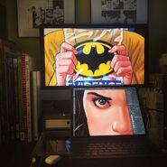 Batman '89 teaser - Desk shot