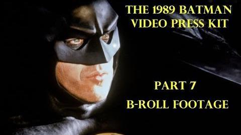 1989 Batman Video Press Kit Part 7 B-Roll Footage 1989Batmanmovie