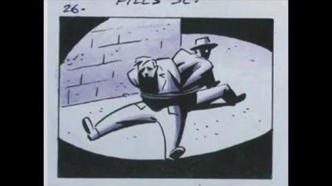 Batman intro storyboard
