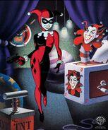 Harley Quinn Limited Edition Cel by Dan Beltrán