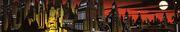 Gotham Background Painting