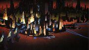 Gotham City by Ted Blackman and John Calmette