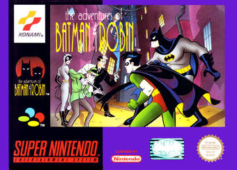 The Adventures Of Batman Robin Snes Batman The Animated Series Wiki Fandom