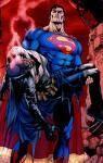 Superman e o corpo do Batman