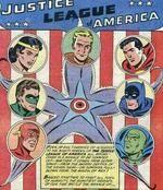 Membros fundadores da Liga da Justiça