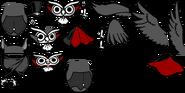 Drac-owl-laspritesheet