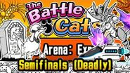 Cheese Strat w Bullet and Bahamut Tag Arena Expert, Semifinals (Deadly) Battle Cats