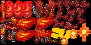 FlamingDragonRiderspritesheet