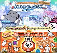 Cats in the Snow EN