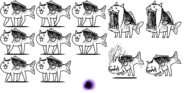 CrazedFishCatspritesheet1